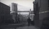George Bradford Brainerd - Street Scene Near Brooklyn Bridge, ca. 1872-1887
