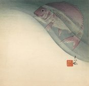 Suian Hirafuki - Fish in Water, ca. 1885