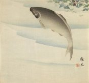 Chikuseki - Fish Beneath Waterchestnut Plant, ca. 1895-1910