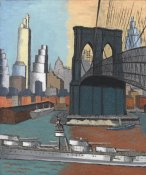Glenn O. Coleman - Bridge Tower, 1929