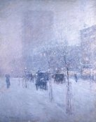 Frederick Childe Hassam - Late Afternoon, New York, Winter, 1900