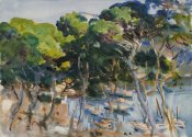 John Singer Sargent - Port of Soller, 1907-1908