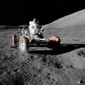 NASA - Lunar Roving Vehicle, Apollo 17, 1972