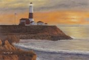Diane Romanello - Montauk Lighthouse Sunset
