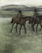 Edgar Degas - Race Horses (left)