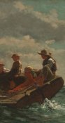 Winslow Homer - Breezing Up (center)