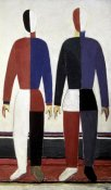 Kazimir Malevich - Sportsmen (right)