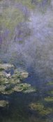 Claude Monet - Water Lilies (Nympheas) IV (left)