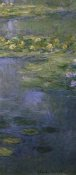 Claude Monet - Water Lilies (Nympheas) IV (right)