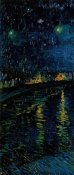 Vincent van Gogh - Starlight Over the Rhone (left)