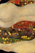 Gustav Klimt - Sea Serpents V (left)