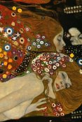 Gustav Klimt - Sea Serpents V (right)