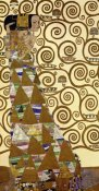 Gustav Klimt - The Stoclet Frieze (left)