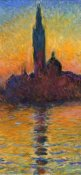 Claude Monet - Twilight Venice (left)