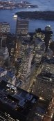Cameron Davidson - Night aerial view of the Financial District, NYC (right)