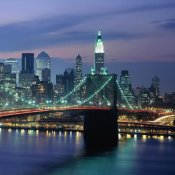 Richard Berenholtz - Brooklyn Bridge and Skyline (right)