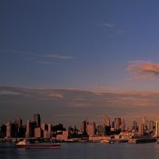 Richard Berenholtz - Midtown Manhattan Skyline, NYC (left)