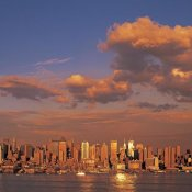 Richard Berenholtz - Midtown Manhattan Skyline, NYC (center)