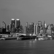 Richard Berenholtz - Manhattan Skyline, NYC (left)