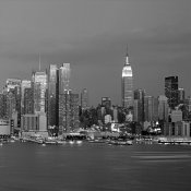 Richard Berenholtz - Manhattan Skyline, NYC (right)