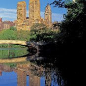 Richard Berenholtz - Bow Bridge and Central Park West View, NYC (right)