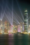 Chan Yat Nin - Symphony of Lights, Hong Kong (center)