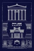 J. Buhlmann - Portico, Coffer and Palmette-Ornament (Blueprint)