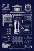 J. Buhlmann - Temple of Athene and Theseus, Polychrome (Blueprint)