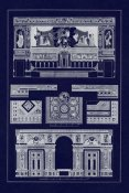 J. Buhlmann - Decoration of Large Halls, Polychrome (Blueprint)