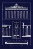 J. Buhlmann - The Parthenon at Athens, Polychrome (Blueprint)