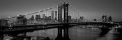 Richard Berenholtz - Manhattan Bridge and Skyline I
