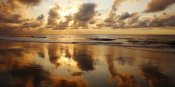 Ron Dahlquist - Hawaii, Maui, Kihei, Sunset at Kamaole Beach One