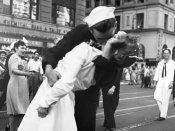 Victor Jorgensen - Kissing the War Goodbye in Times Square, 1945, I