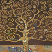 Gustav Klimt - Tree of Life (Brown Variation) II