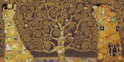 Gustav Klimt - Tree of Life (Brown Variation) IV