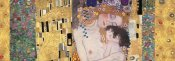 Klimt Patterns - Deco Panel (The Three Ages Of Woman)