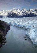 Matthias Breiter - Hubbard Glacier encroaching on Gilbert Point, Wrangell-St. Elias National Park, Alaska