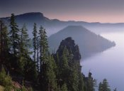 Tim Fitzharris - Wizard Island in the center of Crater Lake, Crater Lake National Park, Oregon
