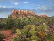 Tim Fitzharris - Coffee Pot Rock near Sedona, Arizona