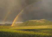 Tim Fitzharris - Rainbow over Boulder Mountains, Idaho