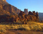 Tim Fitzharris - Fisher Towers at Professor Valley, Utah