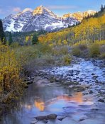 Tim Fitzharris - Maroon Bells and Maroon Creek, Colorado