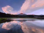 Tim Fitzharris - Clouds reflected in Sparks Lake, Oregon