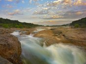 Tim Fitzharris - River in Pedernales Falls State Park, Texas