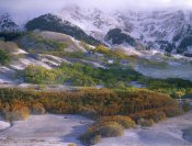 Tim Fitzharris - Elk Mountains with dusting of snow, Colorado