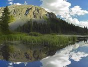 Tim Fitzharris - Palmyra Peak reflected in Alta Lake, Colorado