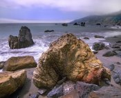 Tim Fitzharris - Rocks on Kirk Creek Beach, Big Sur, California