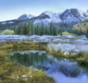 Tim Fitzharris - Pond and Avery Peak, San Juan Mountains, Colorado