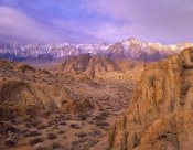 Tim Fitzharris - Sierra Nevada Range from Alabama Hills, California