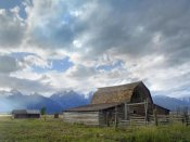 Tim Fitzharris - Mormon row barn, Grand Teton National Park, Wyoming